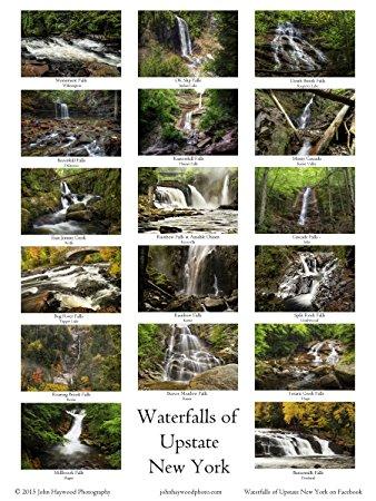 Waterfalls of Upstate New York 18x24 Poster