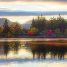 Getting the shot – Mirror Lake Sunrise Panorama
