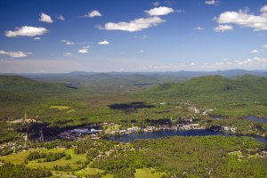 Lake Placid Aerial
