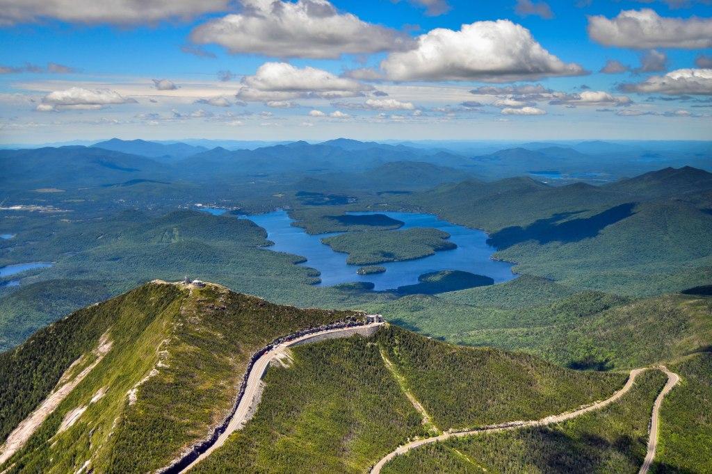 Lake Placid Aerial