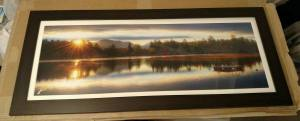 Mirror Lake Sunrise Pano