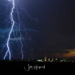 Getting the Shot – Lightning over Albany