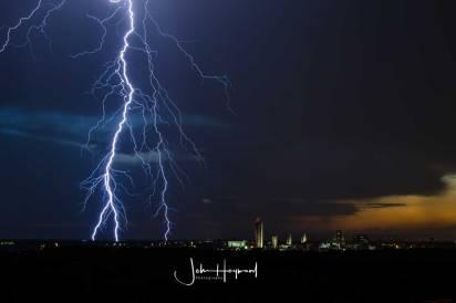 Lightning over Albany 1
