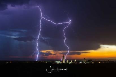 Lightning over Albany 2